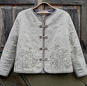 Одежда ручной работы. Ярмарка Мастеров - ручная работа Жакет-душегрея для Эльвиры. Handmade.