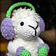 Игрушки животные, ручной работы. Барашек. Символы Нового года 2015.. Olya Osipova (CrochetIsland). Интернет-магазин Ярмарка Мастеров.