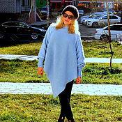 """Одежда ручной работы. Ярмарка Мастеров - ручная работа свитер-пончо """" Ортенсия"""". Handmade."""