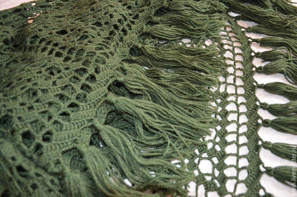 Dark green shawl, Shawls, Moscow,  Фото №1