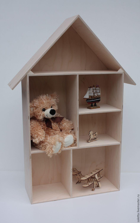 Домик- полочка для игрушек, Кукольные домики, Красноярск,  Фото №1