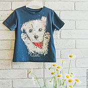 Одежда handmade. Livemaster - original item children`s t-shirt Vestik. Handmade.
