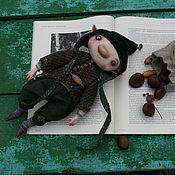 Куклы и игрушки ручной работы. Ярмарка Мастеров - ручная работа Гном Орешек. Handmade.