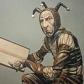 Картины и панно handmade. Livemaster - original item Picture: Jester. The inner child. Handmade.