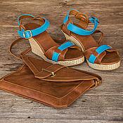 Обувь ручной работы handmade. Livemaster - original item Shoes made of genuine leather Jess. Handmade.