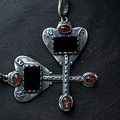 Украшения ручной работы. Ярмарка Мастеров - ручная работа Серьги серебро натуральные камни, серьги из серебра, серьги серебряные. Handmade.