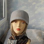"""Аксессуары ручной работы. Ярмарка Мастеров - ручная работа кепи """"Gray"""". Handmade."""