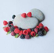 """Украшения ручной работы. Ярмарка Мастеров - ручная работа браслет и серьги """"ягодный микс"""", полимерная глина. Handmade."""