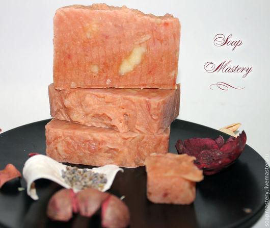 Мыло ручной работы. Ярмарка Мастеров - ручная работа. Купить Лавандовое мыло с нуля. Handmade. Кремовый, мыло натуральное, лаванда