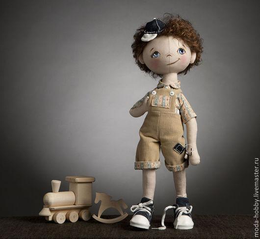 """Куклы и игрушки ручной работы. Ярмарка Мастеров - ручная работа. Купить Набор для шитья """"Кукла Андрюша"""" Модное Хобби. Handmade."""
