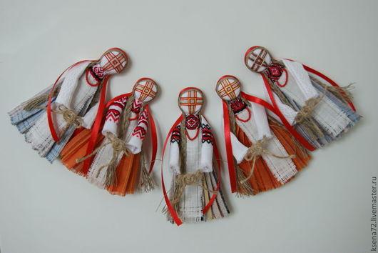 """Народные куклы ручной работы. Ярмарка Мастеров - ручная работа. Купить Магнит """"Кукла мотанка """". Handmade. Кукла-оберег"""