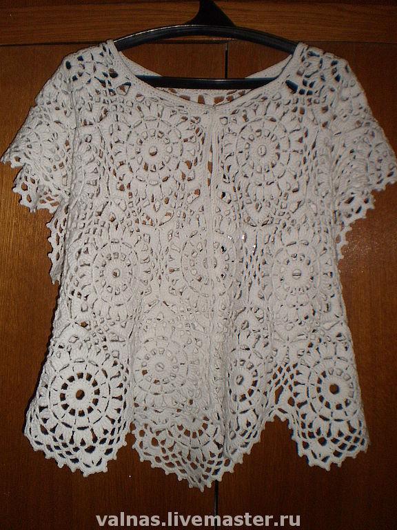 Shawls & Warm Stoles handmade. Livemaster - handmade. Buy Jacket shawl 'Mystery' of a Fashion magazine.Crochet