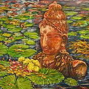 Картины и панно ручной работы. Ярмарка Мастеров - ручная работа Выходящий из воды. Handmade.