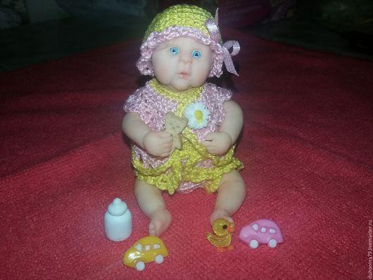 Куклы-младенцы и reborn ручной работы. Ярмарка Мастеров - ручная работа. Купить Малышка из полимерной глины Ксюша. Handmade. Малыш