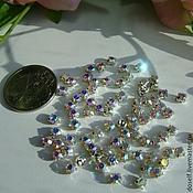 Материалы для творчества ручной работы. Ярмарка Мастеров - ручная работа SS12(3.2 мм)Пришивные Стразы в серебристых цапах Кристалл АВ. Handmade.