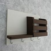 Для дома и интерьера handmade. Livemaster - original item Housekeeper Organizer wall mounted with shelf. Handmade.