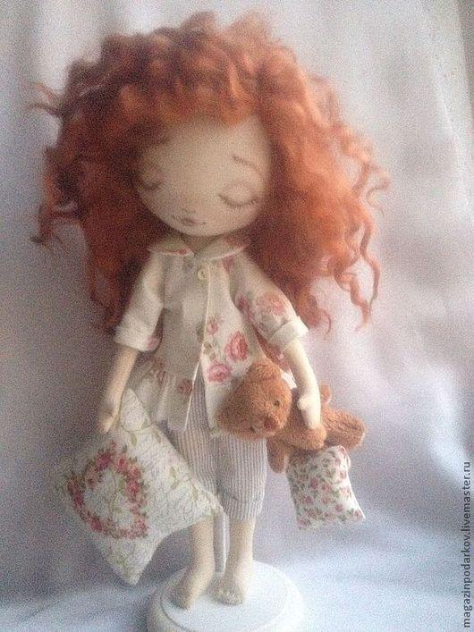 Коллекционные куклы ручной работы. Ярмарка Мастеров - ручная работа. Купить Кукла Сонечка. Handmade. Рыжий, для дома и интерьера