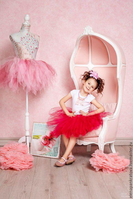 Одежда для девочек, ручной работы. Ярмарка Мастеров - ручная работа. Купить юбка-пачка для девочки. Handmade. Фуксия, карнавальный костюм