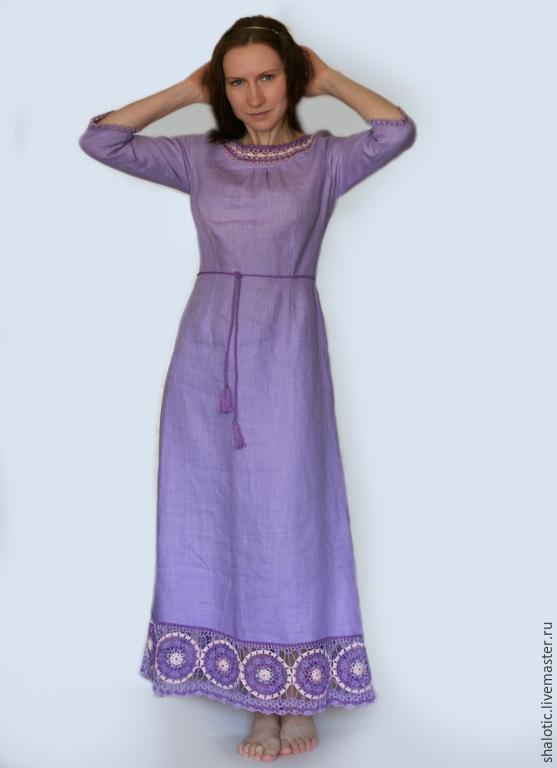 Платье из льна рыбинск