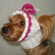 Для домашних животных, ручной работы. Ярмарка Мастеров - ручная работа Шапки для собак ( йорка ). Handmade.