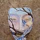 """Интерьерные  маски ручной работы. Маска """"Синяя птица"""". Надежда (Devika). Интернет-магазин Ярмарка Мастеров. Голубой, дерево, счастье"""