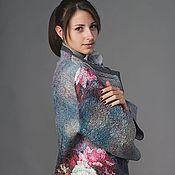 """Одежда ручной работы. Ярмарка Мастеров - ручная работа Валяный жакет""""Барокко"""". Handmade."""