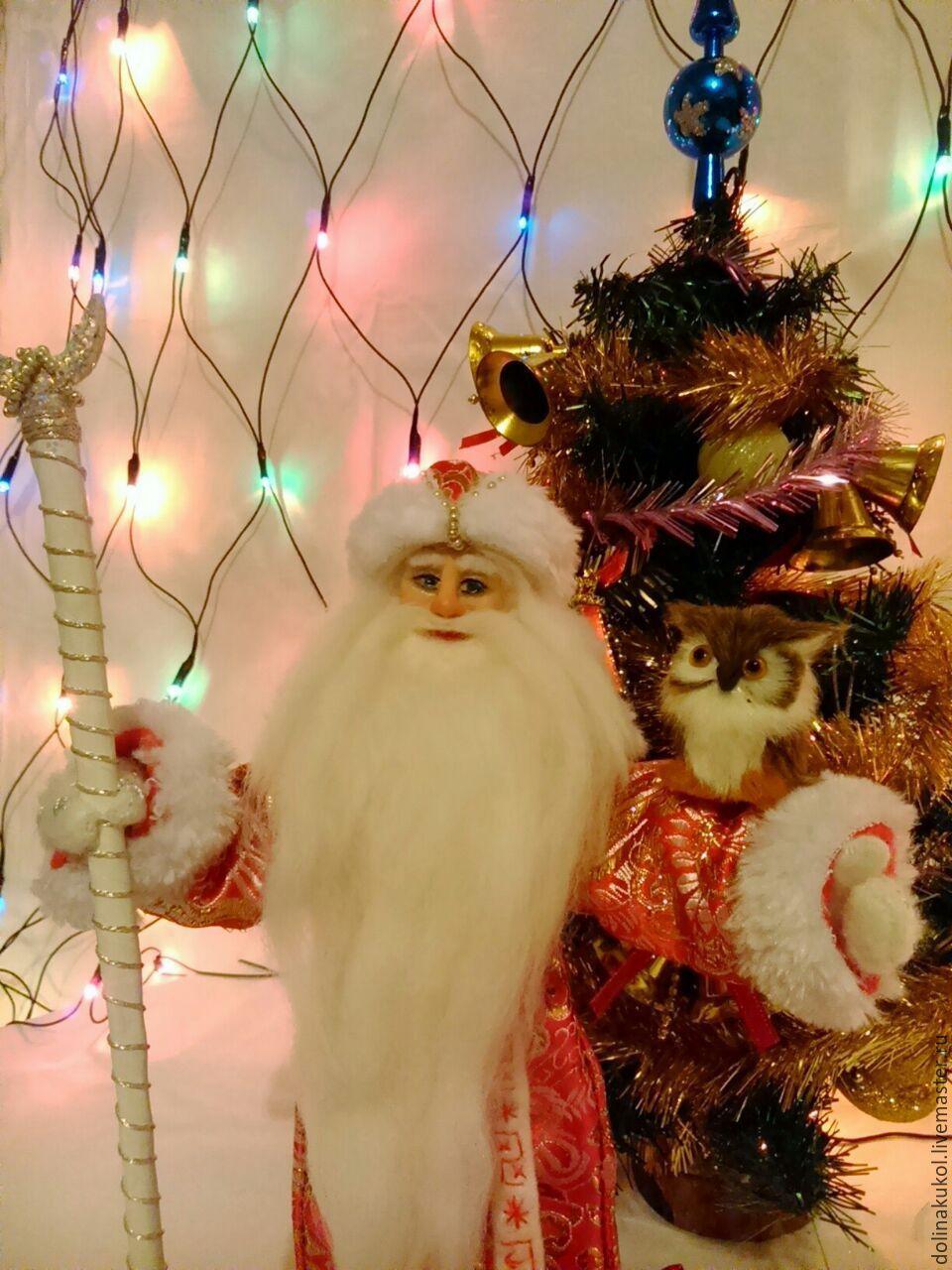 Дед Мороз и Снегурочка, Куклы и пупсы, Москва,  Фото №1