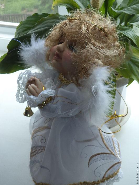 Коллекционные куклы ручной работы. Ярмарка Мастеров - ручная работа. Купить ангел. Handmade. Белый, интерьер, сказочные герои