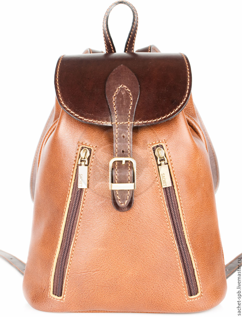 Womens leather backpack 'jolie' brown, Backpacks, St. Petersburg,  Фото №1