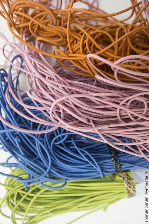 Шитье ручной работы. Ярмарка Мастеров - ручная работа. Купить эластичный шнур резинка 2 мм. Handmade. Разноцветный, резинка