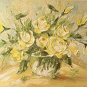 Картины и панно handmade. Livemaster - original item The scent of the roses. Handmade.