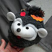 Одежда handmade. Livemaster - original item The cap of the hedgehog boy`s Christmas costumes. Handmade.