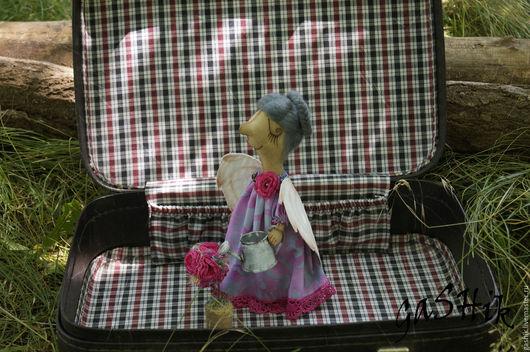 Коллекционные куклы ручной работы. Ярмарка Мастеров - ручная работа. Купить Ангел Розовый сад. Handmade. Ангел, винтажная игрушка