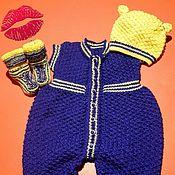 Комплекты одежды ручной работы. Ярмарка Мастеров - ручная работа Комплект одежды Ползунок. Handmade.