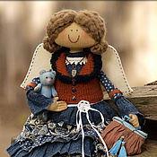 Куклы и игрушки ручной работы. Ярмарка Мастеров - ручная работа Фея Осенней тишины. Девочка, которая любит рукодельничать.. Handmade.