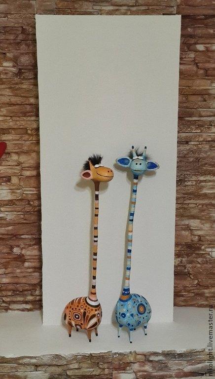 Жираф большой. Авторы - Николай и Надежда.