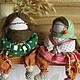 Народные куклы ручной работы. Ярмарка Мастеров - ручная работа. Купить Храмовеюшки. Handmade. Оберег для дома, храмовничек, обереги, лён
