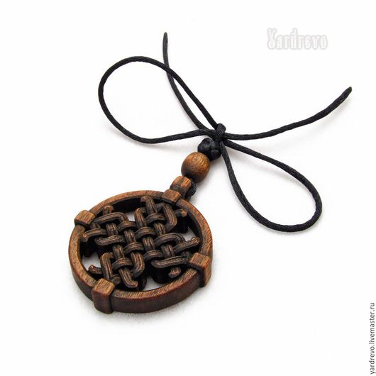 Сувениры ручной работы. Ярмарка Мастеров - ручная работа. Купить Резной крест в круге. Handmade. Коричневый, подарок, тиковое масло