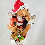 """Куклы и игрушки ручной работы. Ярмарка Мастеров - ручная работа Баба-Яга """"Мухоморчатая"""". Handmade."""