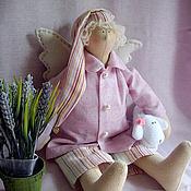 Куклы и игрушки ручной работы. Ярмарка Мастеров - ручная работа Сонный ангел с овечкой. Handmade.