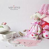 Куклы и игрушки ручной работы. Ярмарка Мастеров - ручная работа Кукла текстильная. Принцесса на горошине.. Handmade.