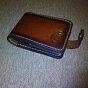 Визитницы ручной работы. Ярмарка Мастеров - ручная работа Картхолдер кожаный 18 карт для мужчин. Handmade.