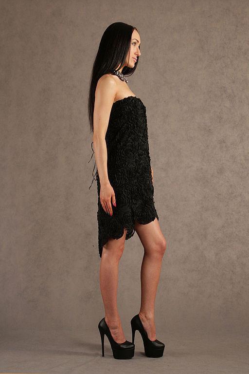 """Платья ручной работы. Ярмарка Мастеров - ручная работа. Купить Вечернее платье """"Ночь"""". Handmade. Черный, платье для выпускного"""