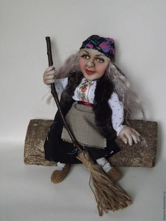 Портретные куклы ручной работы. Ярмарка Мастеров - ручная работа. Купить Портретная кукла Баба Яга. Handmade. Портретная кукла