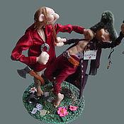Куклы и игрушки ручной работы. Ярмарка Мастеров - ручная работа Конфликт интересов. Handmade.