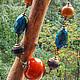 """Колье, бусы ручной работы. Ярмарка Мастеров - ручная работа. Купить Ожерелье """"Indian Summer"""". Handmade. Ожерелье, листопад"""