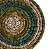 Аксессуары ручной работы. Ярмарка Мастеров - ручная работа Украшение на шею Lasso Moss вязаный шарф  колье бусы. Handmade.