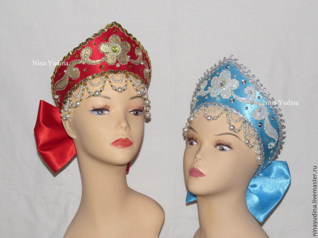 Юлия Самойлова: плетение головного кокошника русского народного костюма твое здоровье