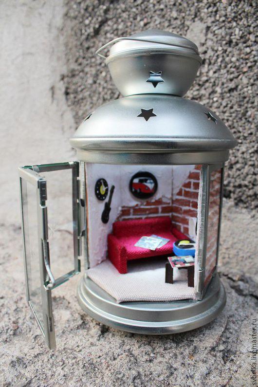 Кукольный дом ручной работы. Ярмарка Мастеров - ручная работа. Купить Лофт. Handmade. Разноцветный, музыка