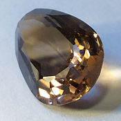 Материалы для творчества handmade. Livemaster - original item Rauchtopaz (Smoky Quartz) natural 21,49 CT.. Handmade.